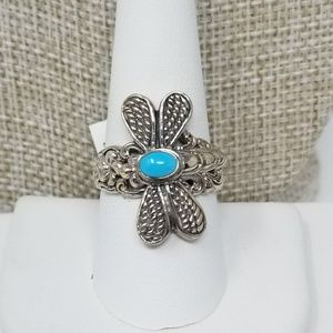 Arizona Sleeping Beauty Turquoise Sterling Silver